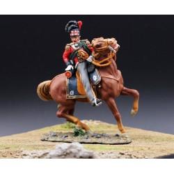 Officier Ecossais du régiment des Black Watch, à cheval