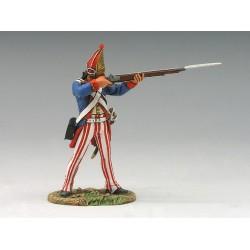 Grenadier d'infanterie Allemand, Armée Britannique, USA 1776 n°3