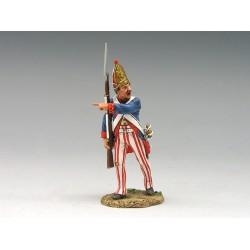 Sergent des grenadiers d'infanterie Allemands, Armée Britannique, 1776 n°2