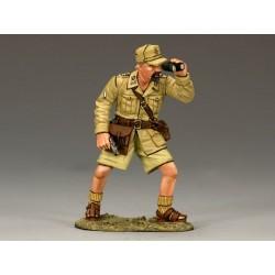 Officier du 10e régiment de bersagliers Italiens, Afrique du nord, 1941-1943