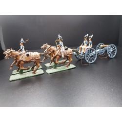 Ensemble d'artillerie à cheval Britannique, British Royal horse artillery, 1804-1815