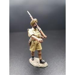 Soldat d'infanterie indien SIKH de la 8th army Britannique, 1941-1943 Afrique