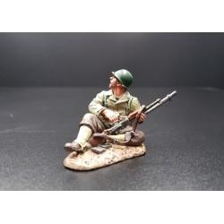 Soldat de la 1ère division d'infanterie Américaine, Normandie 1944