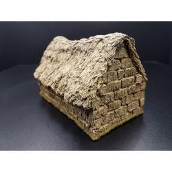 Décors-dioramas, meule de foin en forme de maison