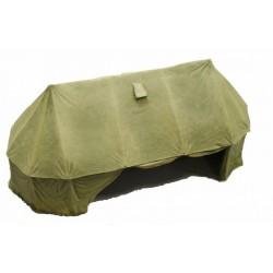 Grande tente militaire régimentaire de campagne, 20e siècle