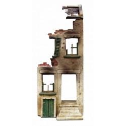 Décors-dioramas, Ruines d'une maison de ville, escalier et entrée