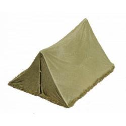 Tente militaire individuelle de campagne BIVI, olive