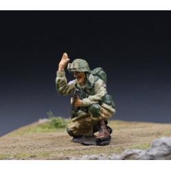 Parachutiste Américain, pathfinder, 82e division aéroportée, Normandie 1944,