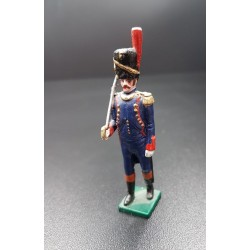 Officier d'artillerie à pied, garde impériale Française, 1er empire Français