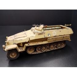véhicule blindé Allemand semi-chenillé, SdKfz251, Wehrmacht, Afrika Korps