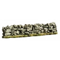 Muret en pierre sèche pour dioramas
