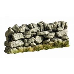 Décors-dioramas, Muret en pierre sèche