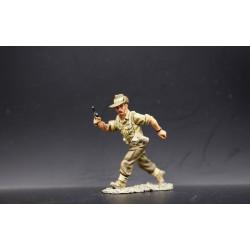 Soldat d'infanterie Australien, au combat, 8th army Britannique, Afrique du nord