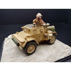 Véhicule léger blindé Néozélandais DINGO, 8th Army, Afrique du nord, 1941-1943