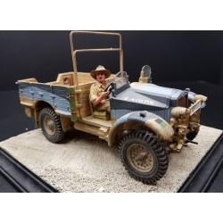 Véhicule MORRIS CS8 Australien, 8th Army, Afrique du nord, 1941-1943