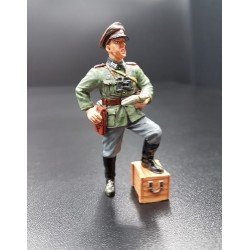 Officier d'artillerie Allemand, Wehrmacht, WW2