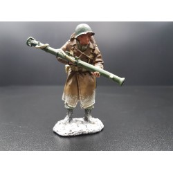 tireur au bazooka, infanterie Américaine, Ardennes-Bastogne, hiver 1944-45