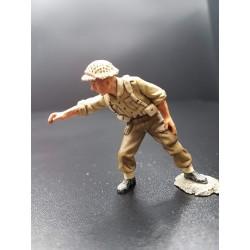Artilleur Britannique, Afrique du nord, 8e Armée, 1941-1943, servant de pièce