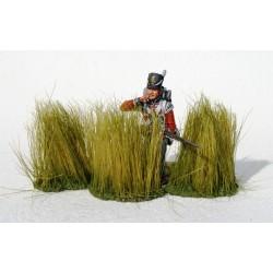 10 grosses touffes d'herbes hautes, pour diorama