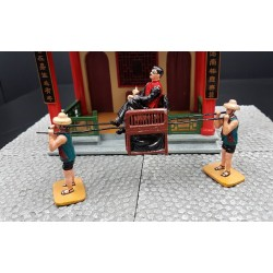 HONG KONG 1897, chaise à porteurs