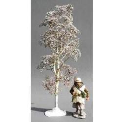 Grand arbre en hiver pour diorama