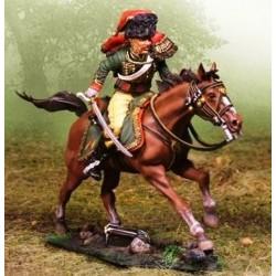 Chasseur à cheval, garde impériale Française, poursuivant