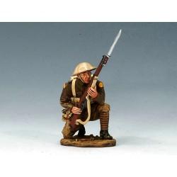 Soldat d'infanterie Britannique, en attente, Cambrai, 1917
