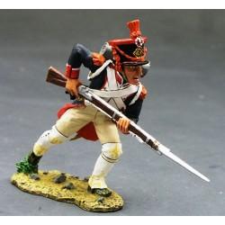 Fusilier d'infanterie de la ligne Français, chargeant