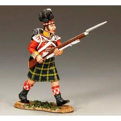 Fusilier, Gordon Highlanders Britannique, à la charge 2