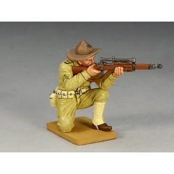 Sniper des US Marines Américains, tirant au fusil