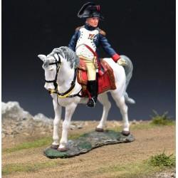 "L'empereur Napoléon 1er et son cheval favori ""Marengo"""
