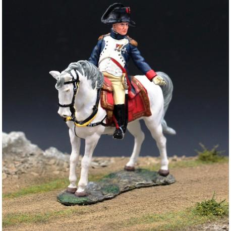 "L'empereur Napoléon 1er sur son cheval favori ""Marengo"""