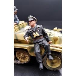 Chef de char ou de véhicule blindé Allemand, 1944
