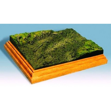 Socle-base diorama pour figurines 54mm