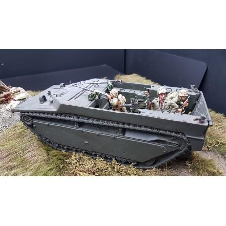 Véhicule de débarquement amphibie Américain, AMTRAC LVT4 1942-1945