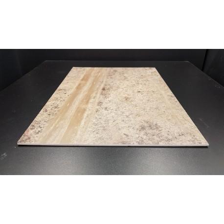 Décor-diorama, plaque présentoir sol désertique