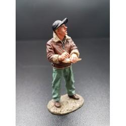 Chef d'équipe Américain de mécaniciens au sol, USAAF, 1941-1945