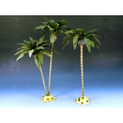 Décors-dioramas 3 grands palmiers