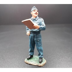 Sergent au briefing, Royal Air Force Britannique, 1939-1945