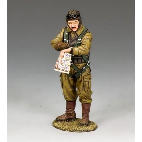 Pilote de chasse Japonais lieutenant J.G. Tetsuzo IWAMOTO, Pacifique 1942