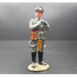 Officier Allemand, avec jumelles, Wehrmacht 1939-1945