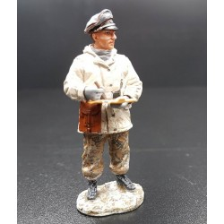 Officier chef de chars, Panzerdivision Allemande, Ardennes hiver 1944-1945
