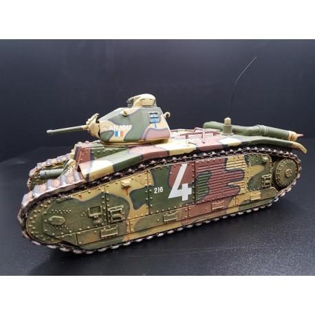 Char Français B1bis 1936-1940, bataille de France 1940