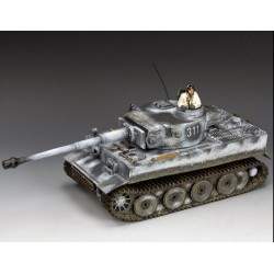 Char lourd TIGRE 1 114 Ausf B Allemand, Ardennes hiver 1944-1945
