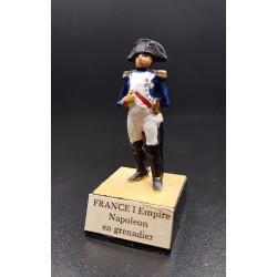 L'empereur Napoléon, en tenue de colonel des grenadiers