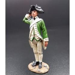 Capitaine Samuel NICHOLAS, officier US marines Américains, 1775-1783