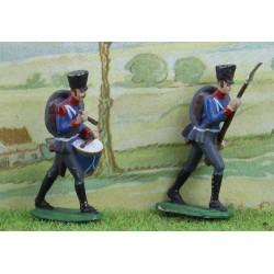 2 fusiliers d'infanterie de la ligne Silésiens, Prusse 1800-1815