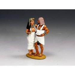 Union d'un couple de nobles Egyptiens, Ancienne Egypte