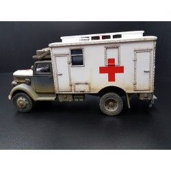 Ambulance militaire Allemande OPEL BLITZ, Wehrmacht 1937-1945