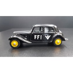UNIVERSAL HOBBIES CITROEN TRACTION AVANT, FFI 1944, 1/43